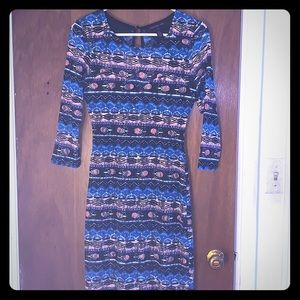 Like new Material Girl pattern lace dress